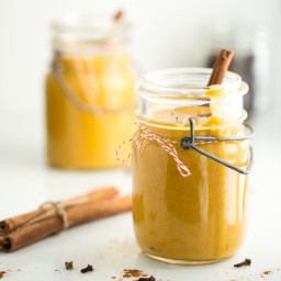 Velvety Butternut Cinnamon Date Smoothie