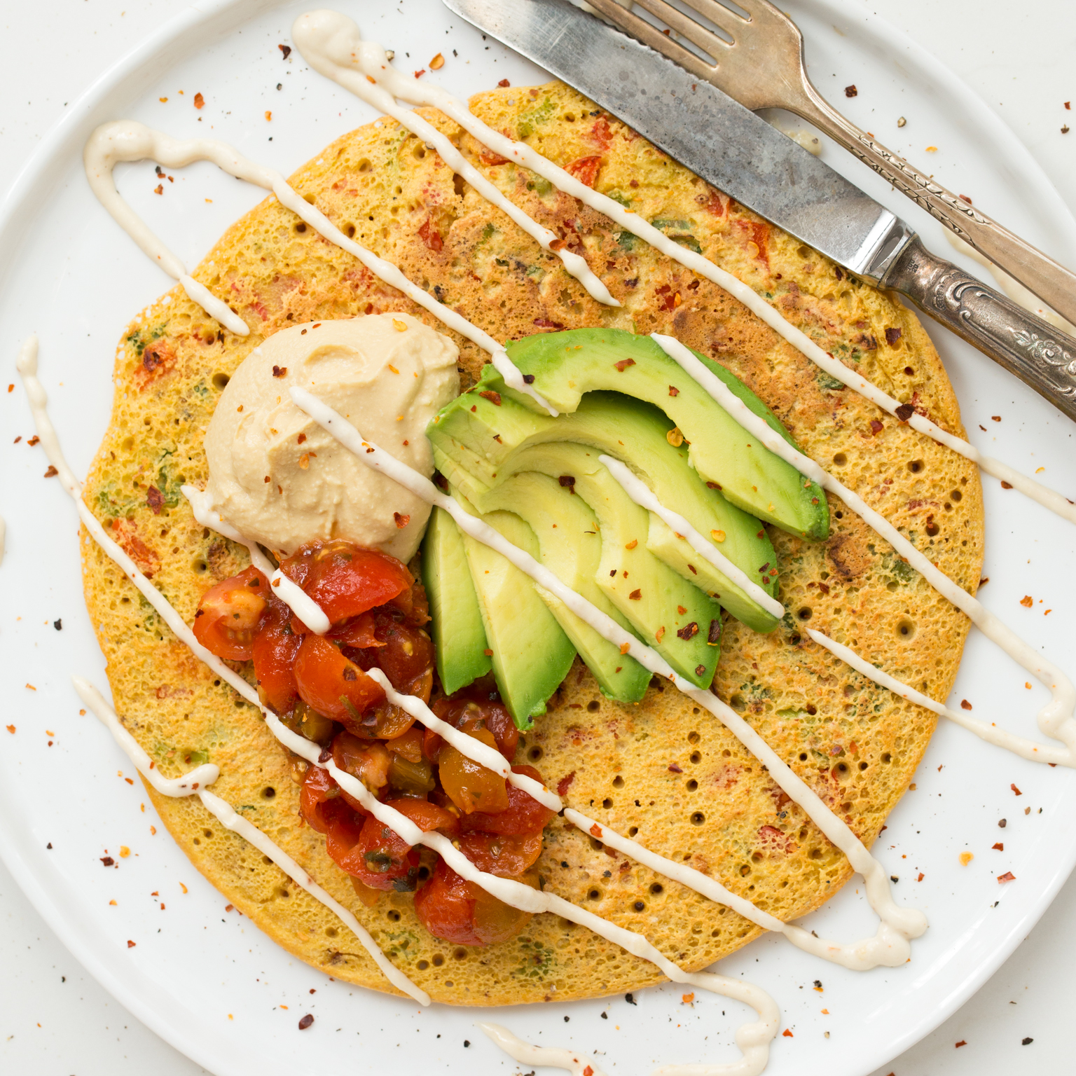 Jumbo chickpea pancake a high protein filling vegan breakfast or jumbo chickpea pancake a high protein filling vegan breakfast or lunch oh she glows ccuart Images