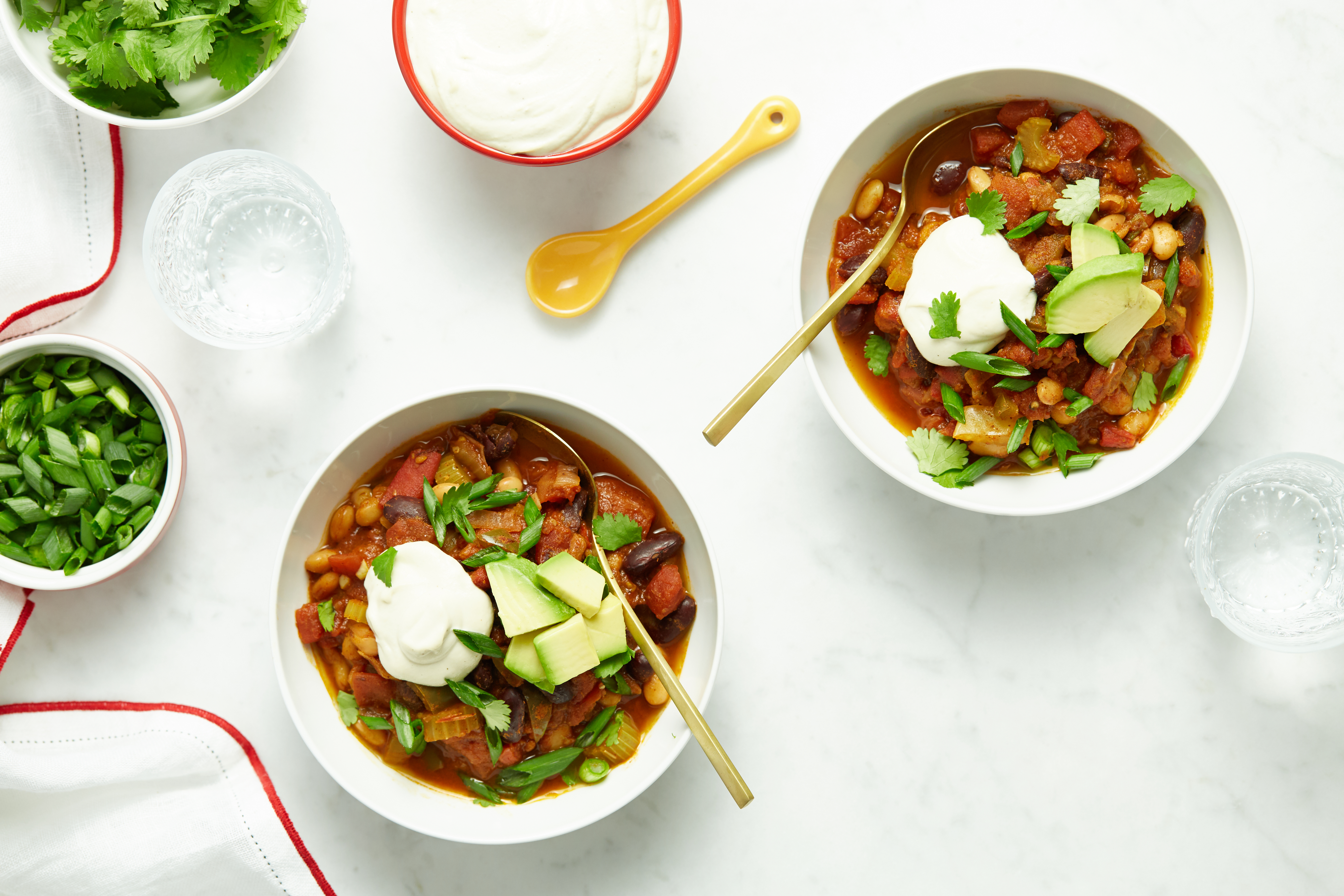 My Favourite Vegan Chili with Homemade Sour Cream — Oh She Glows