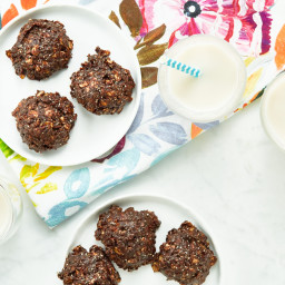 No-Bake Chocolate Fudge Cookies
