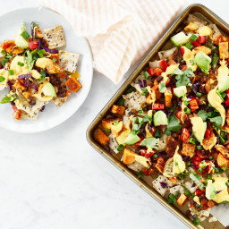 Cheerful Vegan Nachos