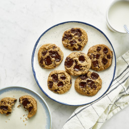 Grain-free, Nut-free Chocolate Chunk Cookies