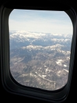 View from plane!