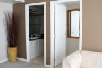 Bathroom and bedroom doors