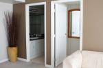 Bathroom and bedroom doors