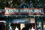 Arriving at Capilano bridge & park