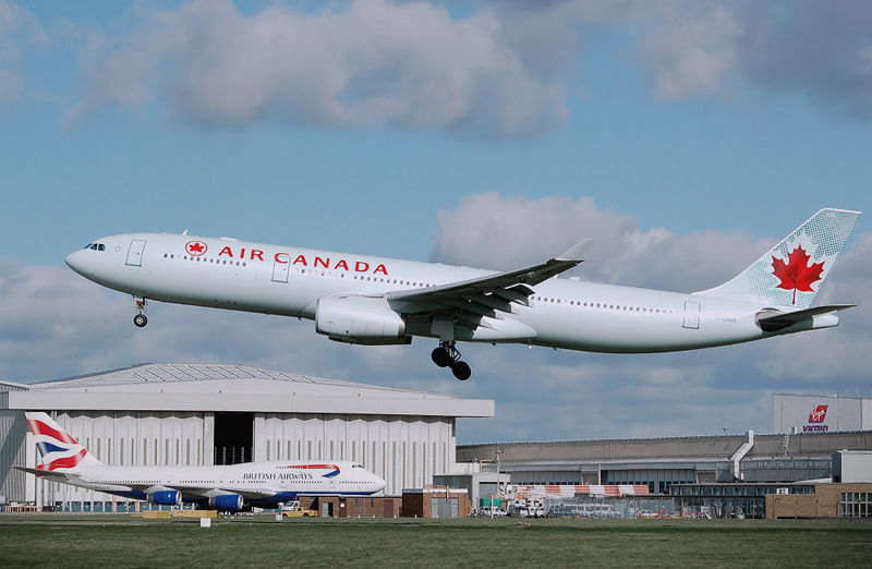 air canada airbus a330300 by arpingstone public do1   Where Does Time Go?