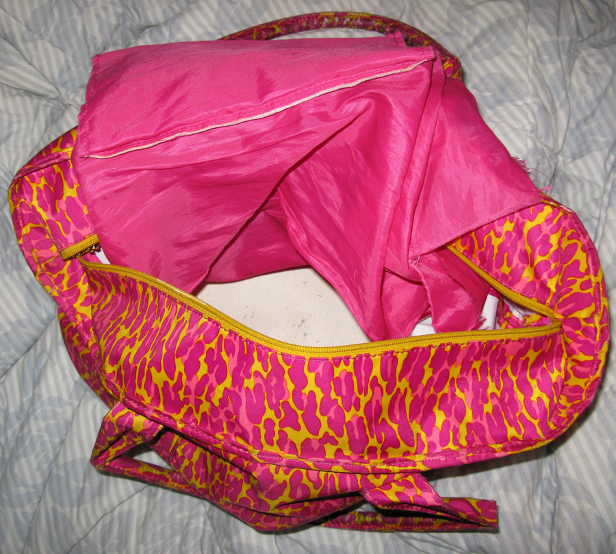 kristin betseybag2   Lululemon Its In The Bag Contest Winner!