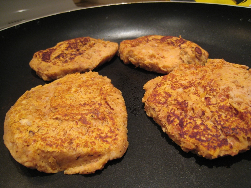 img 6577   Sweet Potato Pinto Burgers