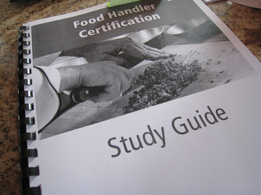 food handler study guide Food handler cards issued on this site are valid for all of oregon study for food handlers card food handler categories food handler manual take food handlers test register or login to take the test and print your food handler card the state of oregon requires all food handlers pass a test and get a food card within.