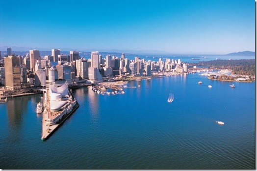 vancouver aerial thumb   North America's Healthiest Cities: Where do you rank?
