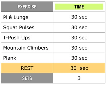 10minguidelines thumb   10 Minute Boot Camp Workout by Marci Lall