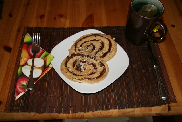 Healthy Peanut Butter Chocolate Coco Swirl Pancakes — Oh ...