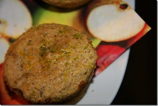 img 2900 thumb   Lime n' Cantaloupe Margarita Muffins