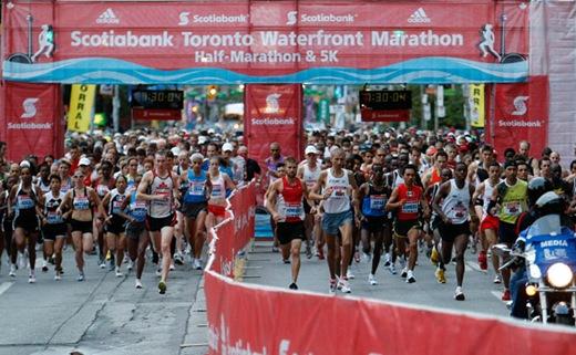 038TA092808Marathon1 thumb   Scotiabank Toronto Waterfront Half Marathon Race Recap!