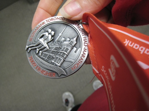 IMG 6538 thumb   Scotiabank Toronto Waterfront Half Marathon Race Recap!