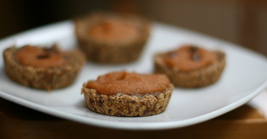 IMG 5071 thumb   Vegan Spiced Pumpkin Pie Glo Bites