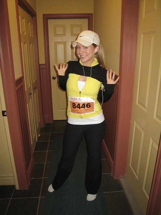 IMG 6974 thumb   Goodlife Fitness Toronto Half Marathon Race Recap!