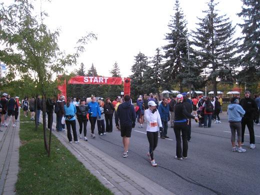 IMG 6992 thumb   Goodlife Fitness Toronto Half Marathon Race Recap!