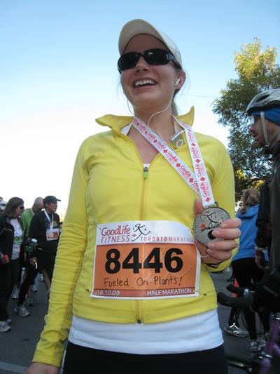 IMG 7017 thumb   Goodlife Fitness Toronto Half Marathon Race Recap!