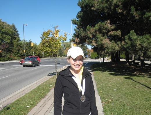 IMG 7028 thumb   Goodlife Fitness Toronto Half Marathon Race Recap!
