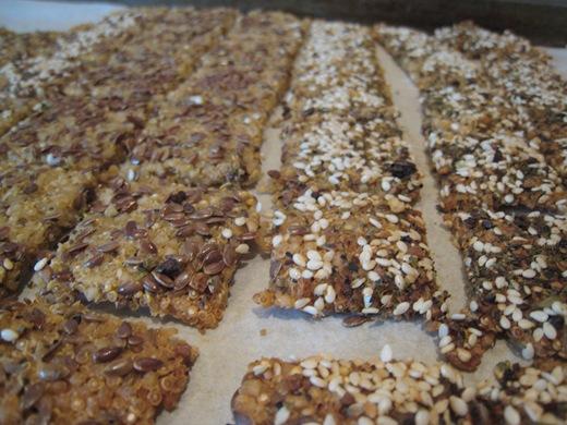 IMG 0050 thumb   Gluten Free + Vegan Chewy Crackers