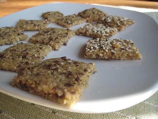 IMG 0056 thumb   Gluten Free + Vegan Chewy Crackers
