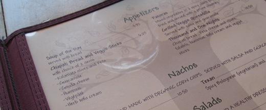 IMG 8084 thumb   Calactus Cafe: A Wonderful Vegan Dining Experience