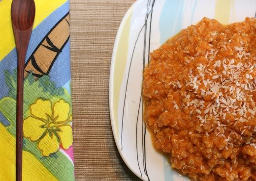 IMG 0117 thumb   2 Minute Pumpkin Quinoa