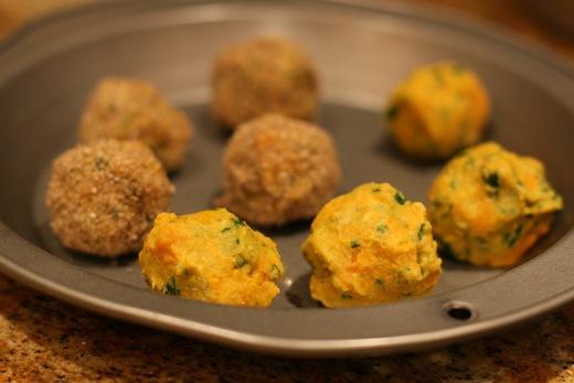 IMG 8955 thumb   Speedy Sweet Potato Falafel Balls