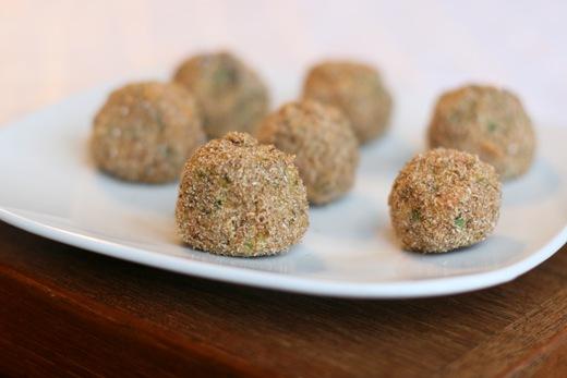 IMG 8967 thumb   Speedy Sweet Potato Falafel Balls