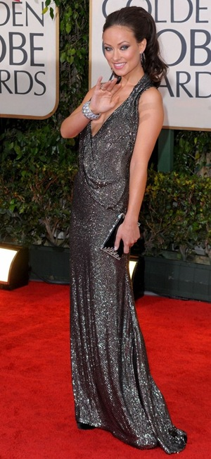 arrives at the 67th Annual Golden Globe Awards held at The Beverly Hilton Hotel on January 17, 2010 in Beverly Hills, California.