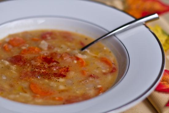 20101117IMG 0617 thumb   Easy White Bean Soup