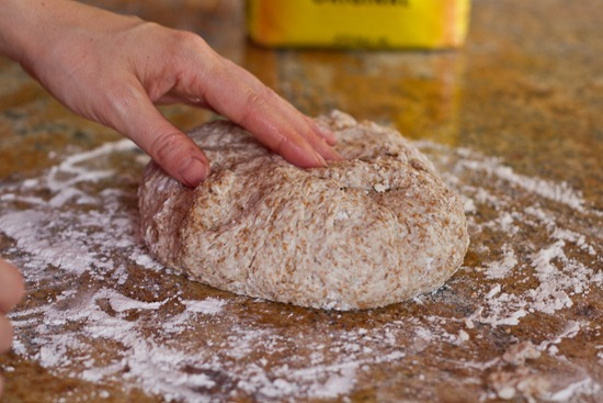 IMG 6406 thumb   4 Ingredient No Knead Bread