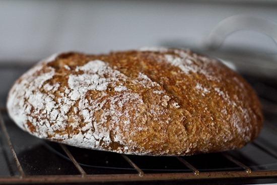 IMG 6431 thumb   4 Ingredient No Knead Bread