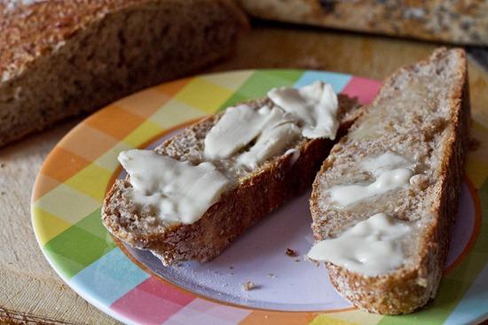 IMG 6445 thumb   4 Ingredient No Knead Bread