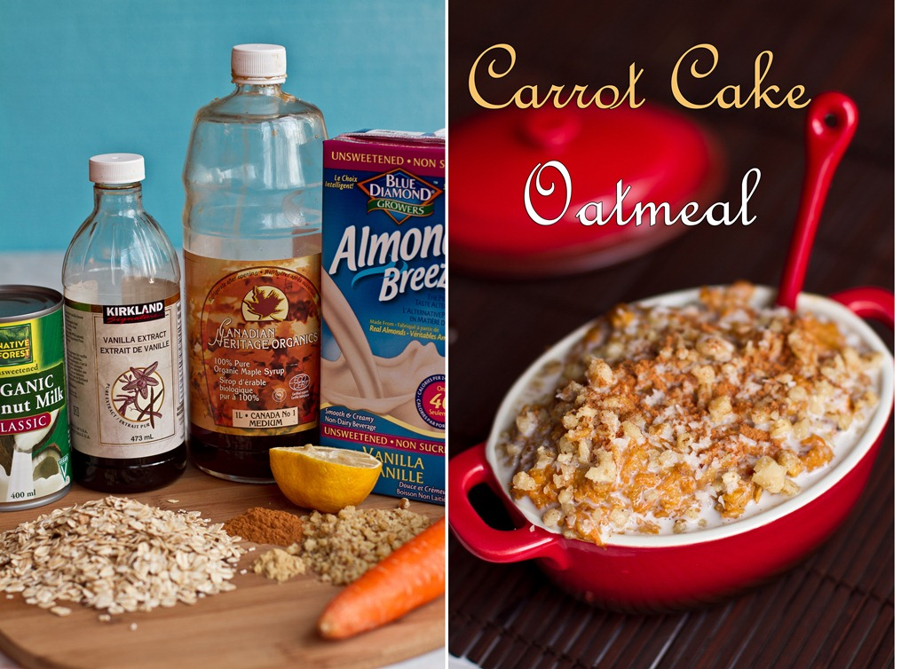Holiday Breakfast In A Jiffy Carrot Cake Oatmeal Oh She Glows