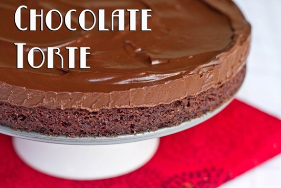 torteresized thumb   Chilled Double Chocolate Torte