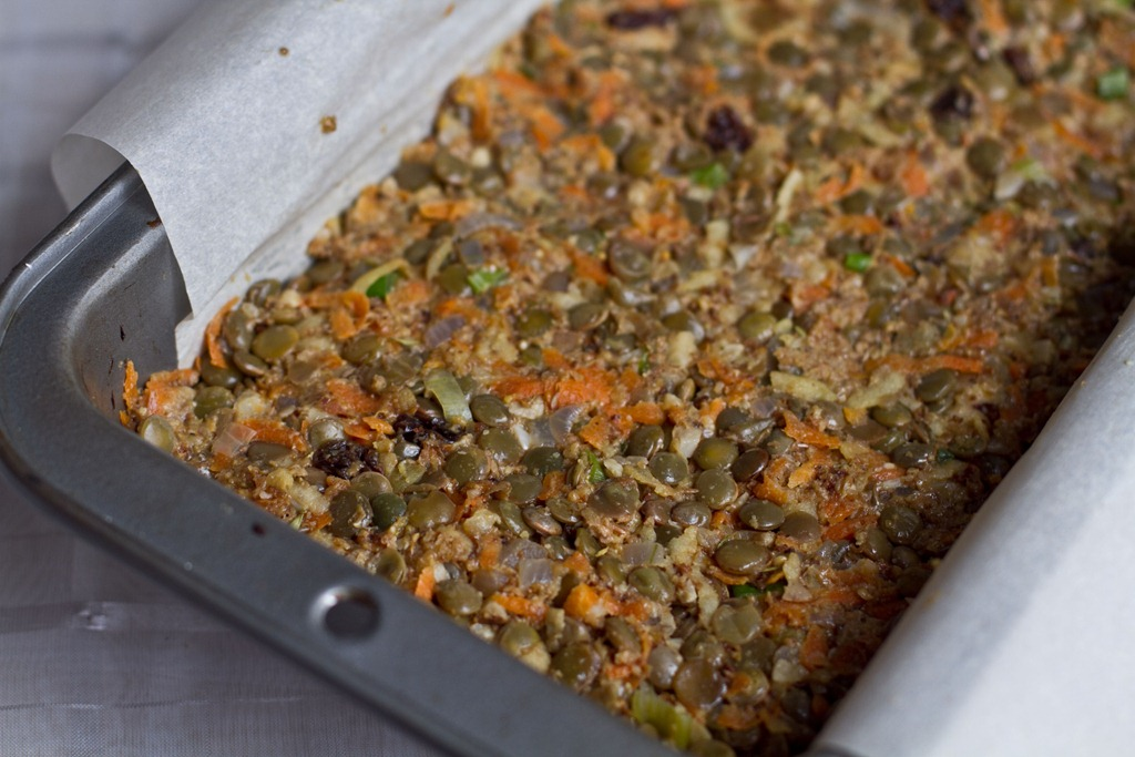 Ultimate Lentil Walnut Loaf