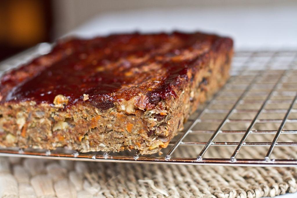 vegan nut loaf