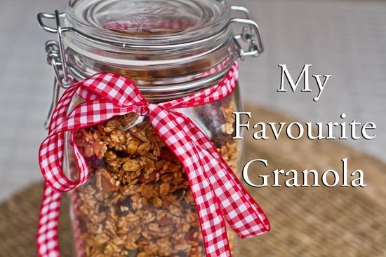 IMG 8273b thumb   My Favourite Homemade Granola (to date!)