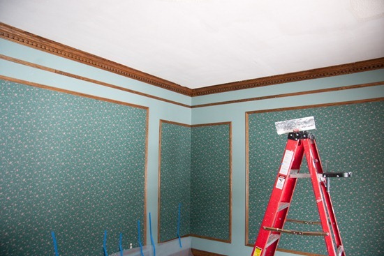 removing wallpaper from plaster walls with fabric softener