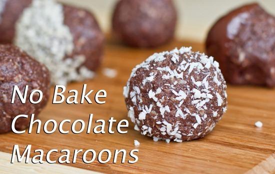 IMG 0364   No Bake Chocolate Macaroons