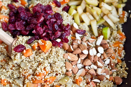 IMG 0787   Lovely & Light Cranberry, Apple, and Almond Quinoa