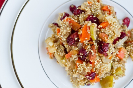 IMG 0798   Lovely & Light Cranberry, Apple, and Almond Quinoa