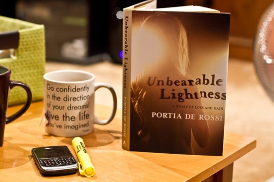... Unbearable Lightness By Portia De Rossi. IMG_0974 Amazing Ideas