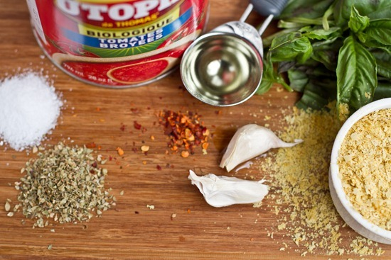 IMG 0995   Tomato Walnut Basil Pasta