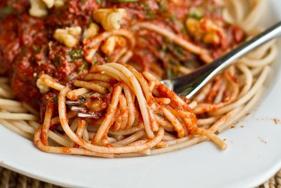 IMG 1053   Tomato Walnut Basil Pasta