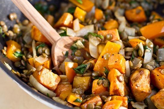 IMG 3133   Sweet Potato and Lentil Salad + Cookie Dough VOO
