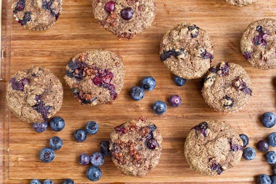 IMG 3313   Mini Whole Wheat Blueberry Breakfast Muffins